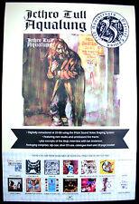 JETHRO TULL Ian Anderson Aqualung 1996 UK Poster Mint- Classic ORIGINAL!