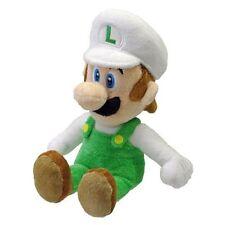 """Nintendo Sanei Super Mario Bros Soft Plush Toy Figure 8"""" Fire Luigi *New* NWT"""