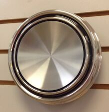 1967-1969 Mustang Turino Cougar Blank Polished Stainless Steel Hubcap Center Cap