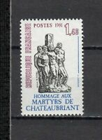 S25295) France 1981 MNH Chateaubriant 1v