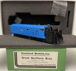 Brass H0 Overland Models OMI-3031.1 Great Northern Bros SnoFlyer #X 1500 Factory
