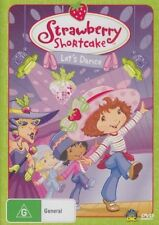 Strawberry Shortcake - Let's Dance (DVD, 2008, Region 4) NEW & SEALED