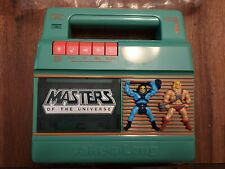 Vintage Masters of the Universe Take-A-Long Cassette Player He-Man Skeletor 1983