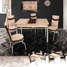 Tisch- & Stuhl-Sets in aktuellem Design aus Glas fürs Wohnzimmer