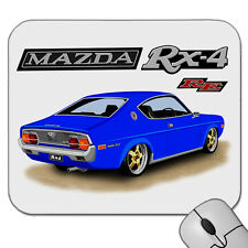 MAZDA  RX4  COUPE   12A  RE  ROTARY ENGINE     MOUSE PAD   MOUSE MAT