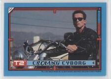 1991 Topps Terminator 2: Judgement Day Stickers #40 Cycling Cyborg Card 0c3