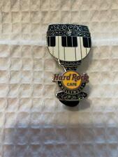 Hard Rock Cafe Pin Hollywood ~ Back & Silver Glitter Goblet w Keyboard Center