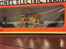 Lionel 6-16935 Union Pacific Flat Car With Ertl Bulldozer