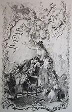 1879 Uzanne Bric-à-Brac de l'Amour Femmes Parisiennes 1/50 Whatman Bibliophilie