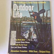 Outdoor Life Magazine Fishing Black Bass Deer & Sheep July 1970 060817nonrh2