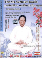 2DVDs Ma style Qigong Exercise Ma Xuzhou 's Health protection methods for eyes