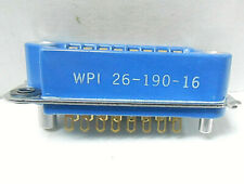 26-190-16S WPI CONNECTOR, NEW OLD STOCK  DATE CODED: 1991