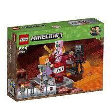 LEGO® Minecraft™ - 21139 Nether-Abenteuer NEU & OVP + passt zu 21118 21115 21117