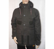 Cotton Hooded Regular Size Coats & Jackets for Men Quilted