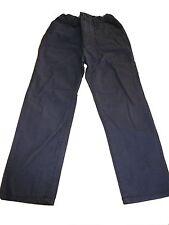 H & M tolle Hose Gr. 116 einfarbig blau !!