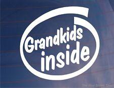 Petits-enfants à l'intérieur de voiture / fourgonnette / Fenêtre / Pare-choc / Autocollant Caravane-idéal pour les grands-parents