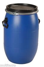 Bidon 60 litres 60L jerrycan fut baril plastique alimentaire ouverture totale