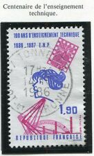 STAMP / TIMBRE FRANCE OBLITERE N° 2444 ENSEIGNEMENT TECHNIQUE