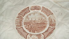 C4 Pottery Alfred Meakin Fair Winds Plate 23cm 6C4B