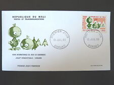 MALI  122    PREMIER JOUR FDC    JOUET NUREMBERG   CANARD    15F     1969