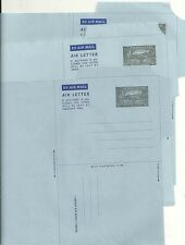 SIERRA LEONE KGVI x 5 UNFOLDED 6d AIRLETTERS - FINE UNUSED - POSTAL STATIONERY
