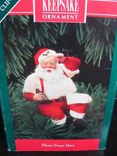 Hallmark Ornament 1992 PLEASE PAUSE HERE Coca Cola Coke Santa QX5291 MIB