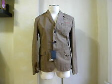 DSQUARED² COOL BROWN CASUAL SPORT JACKET BLAIZER S 50 M MADE IN ITALY