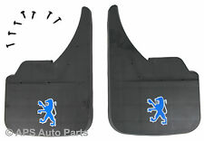 MUDFLAPS FOR PEUGEOT MODELS UNIVERSAL FIT MUD FLAP 106 107 206 306 307 406 407