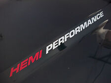 HEMI PERFORMANCE (pair) Dodge Ram Hood 1500 2500 sticker decals emblem 5.7L V8
