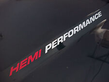 HEMI PERFORMANCE (pair) Dodge Ram 1500 Truck Hood decals emblem 2010 5.7L V8