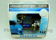 Genuine Philips Diamond Vision H4 9003 HB2 5000K headlight bulb 12336 light lamp