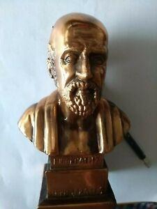 Hippokrates Heilkunst Äskulap Skulptur 20 cm, Andenken Griechenland
