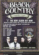 Black Country Communion - UK Tour Dates 2011 - Full Size Magazine Advert