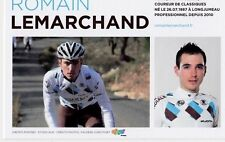 CYCLISME carte cycliste ROMAIN LEMARCHAND  équipe AG2R prévoyance 2011
