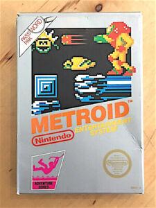Metroid Nintendo NES  BOX ONLY no videogame