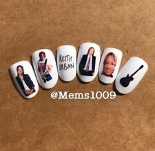 Keith Urban Art (water decals) Country Music Nail Art Decals
