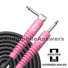 Analysis Plus Genesis Pure PINK Instrument Cable Straight to 90 Deg. Plugs 30ft