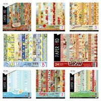 Ciao Bella 6 x 6 Paper/Cardstock Double-Sided Pads - Choice Of 15 Designs