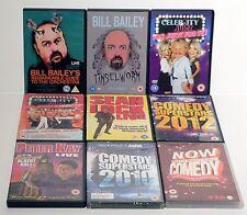 STAND UP / COMEDY 9 DVD BUNDLE - PETER KAY, SEAN LOCK, CELEBRITY JUICE & MORE