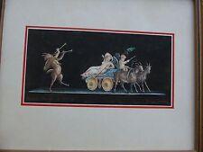 GALLO glovanni Pompei Trio info di Venere Colore dell'acqua 1955 foto d'arte firmata