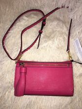 REBECCA MINKOFF JILL CROSS BODY BAG berry new $195