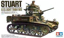 Tamiya 35042 1/35 Scale Military Model Kit U.S. M3 General Stuart Light Tank