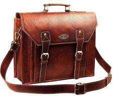 USA Men Vintage Best Leather Messenger Laptop Satchel Shoulder Bag Briefcase