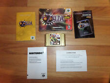 CL/ZELDA MAJORA'S MASK/HOLOGRAM/COLLECTOR'S EDITION/BOX/MANUAL!