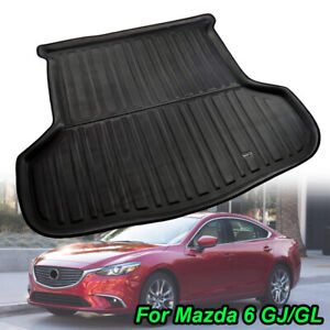 Rear Trunk Mat Boot Cargo Liner Car Accessories For Mazda 6 Atenza M6 2014-2021