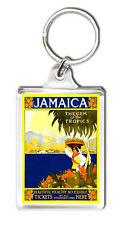 JAMAICA VINTAGE REPRO KEYRING SOUVENIR LLAVERO