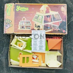 Vintage MATTEL THE LITTLES - Unfurnished Dolls House Like New 1980's