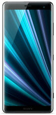 Sony Xperia XZ3 Android Smartphone (64GB 4GB RAM 6 Zoll 19MP Kamera) Schwarz
