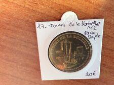 17 LA ROCHELLE TOURS N°2 FACE SIMPLE MONNAIE DE PARIS 2010