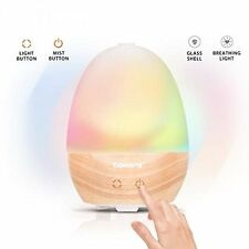 Tomons LED Essential Oil Aroma Diffuser Ultrasonic Humidifier Air Aromatherapy